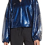 Adidas Originals Sequin Quarter Zip Track Top