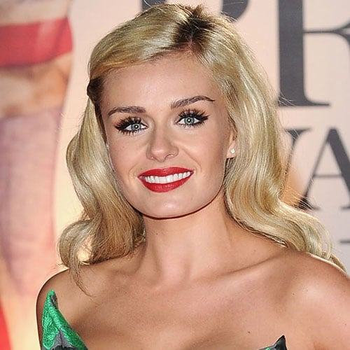Katherine Jenkins' Beauty Look at the 2011 Brit Awards