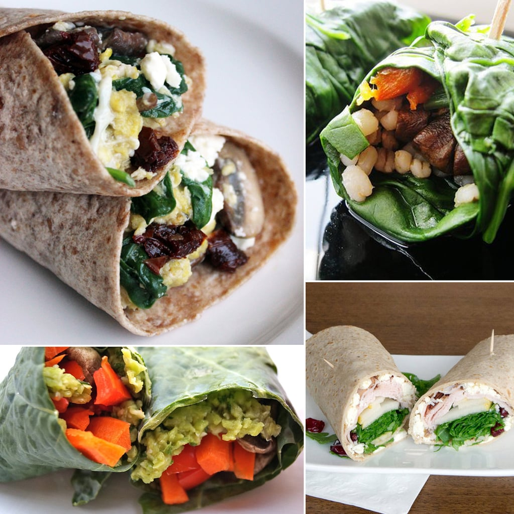 healthy wrap recipes popsugar fitness
