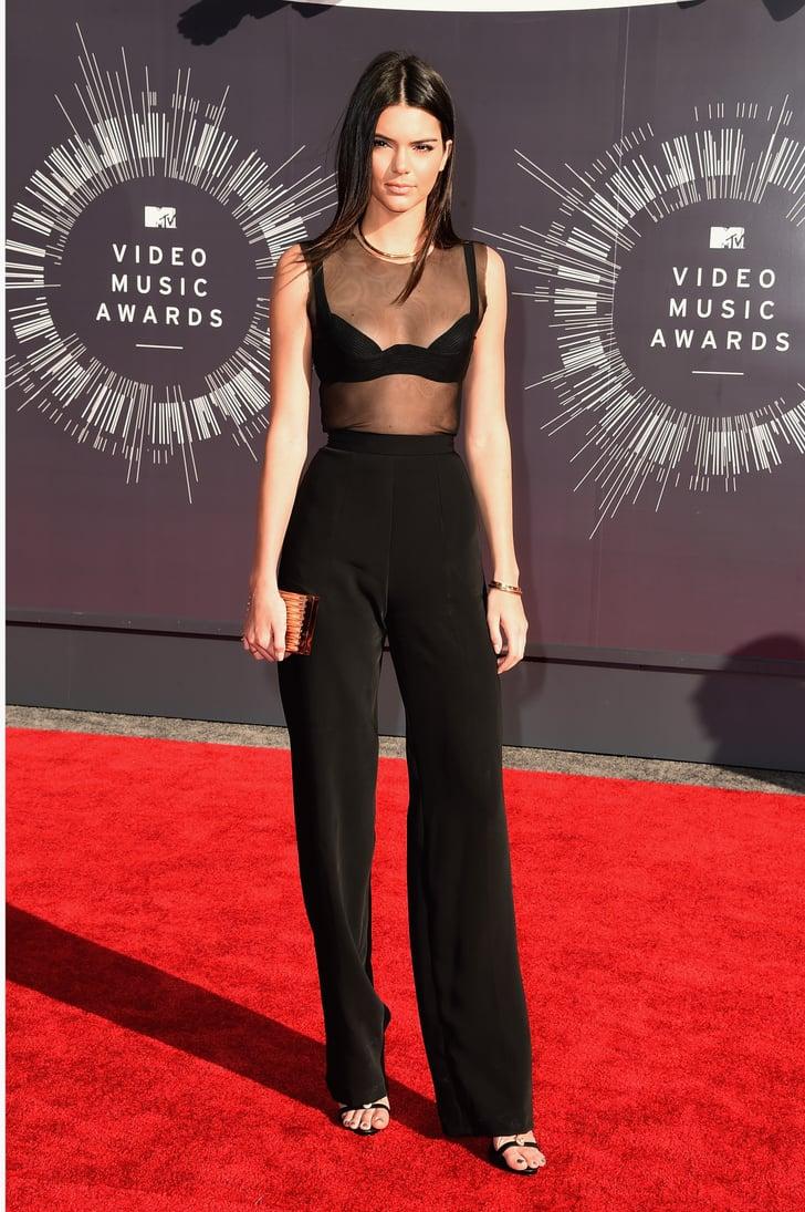 Kendall Jenner At The 2014 Mtv Vmas Vmas 2014 Red Carpet