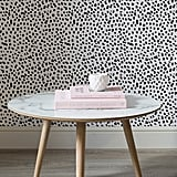 Black and White Dalmatian Speckle Wall Mural