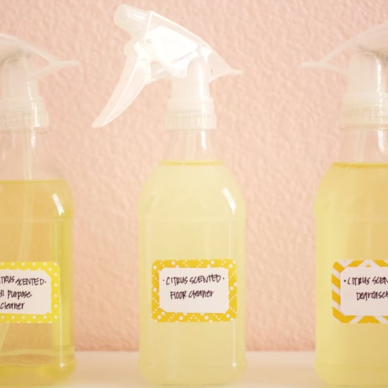 DIY Eco Citrus Cleaners
