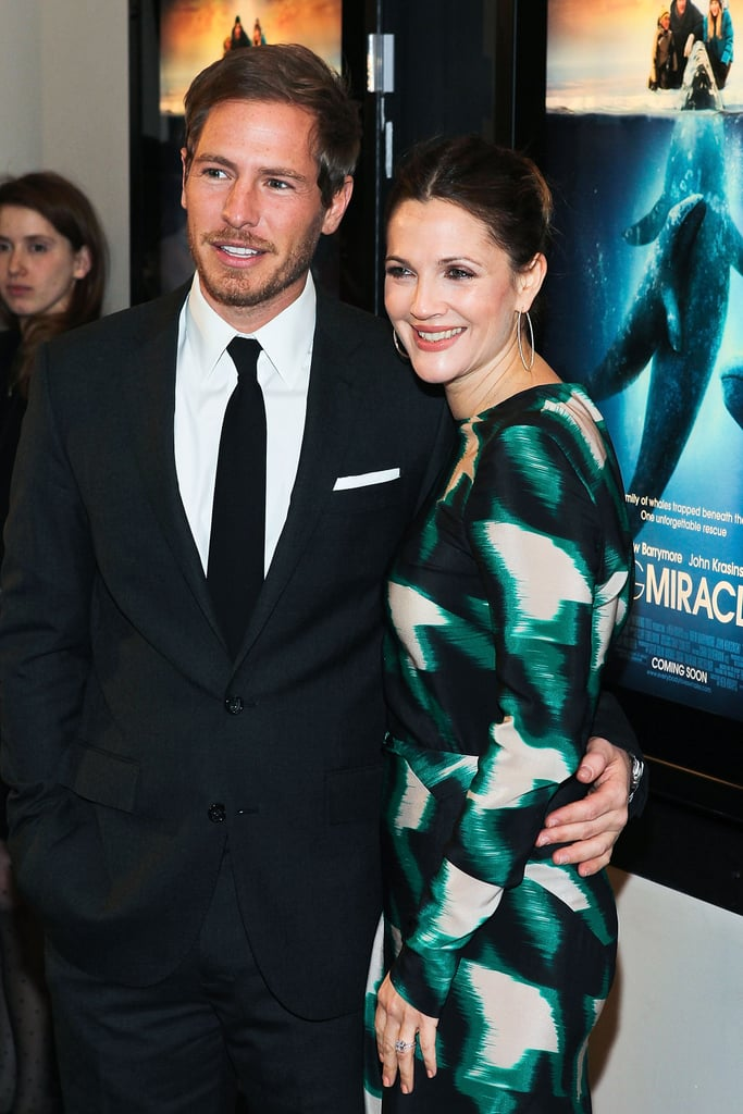 Drew Barrymore cozied up to Will Kopelman at the premiere of Big Miracle.