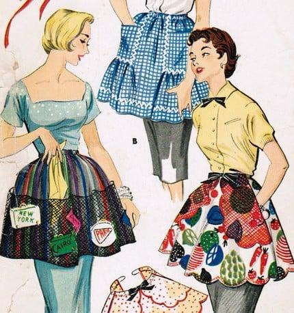 Ask Casa: Displaying Vintage Aprons