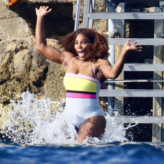 Serena Williams and Alexis Ohanian Vacation in France Photos