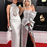 Lady Gaga and Jennifer Lopez at the 2019 Grammys