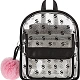 Transparent Glitter Backpack