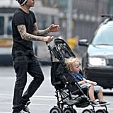 Pictures of Ashlee Simpson, Pete Wentz and Bronx
