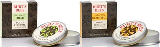 Burt's Bees Premieres New Natural Solid Perfumes