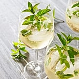 Prosecco, Elderflower, and Mint Cocktail