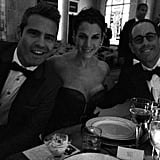 Andy Cohen dined with Jessica and Jerry Seinfeld at the Met Gala. Source: Instagram user bravoandy