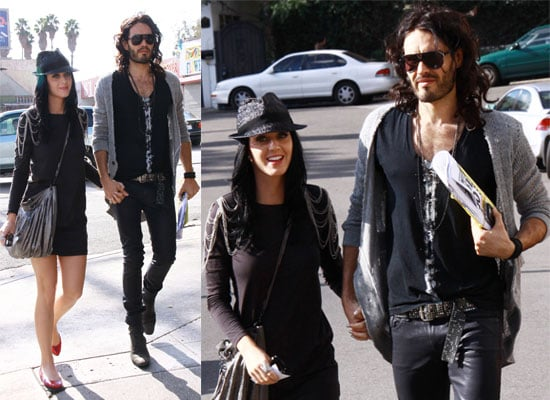 Katy Perry Russell Brand in LA Photos