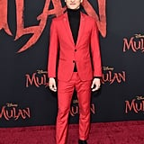 Chen Tang at the World Premiere of Mulan in LA