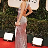 Nicole Richie hit her mark on the red carpet in a full-length dress.