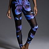 Onzie High Rise Bondage Legging in Midnight Anemone