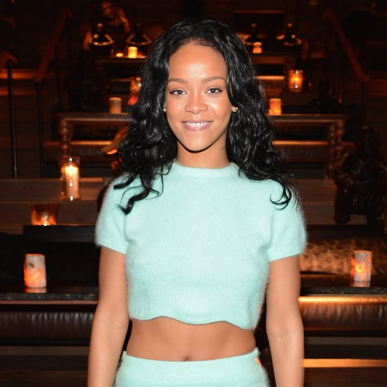 Rihanna's Blue Crop Top Style | Video