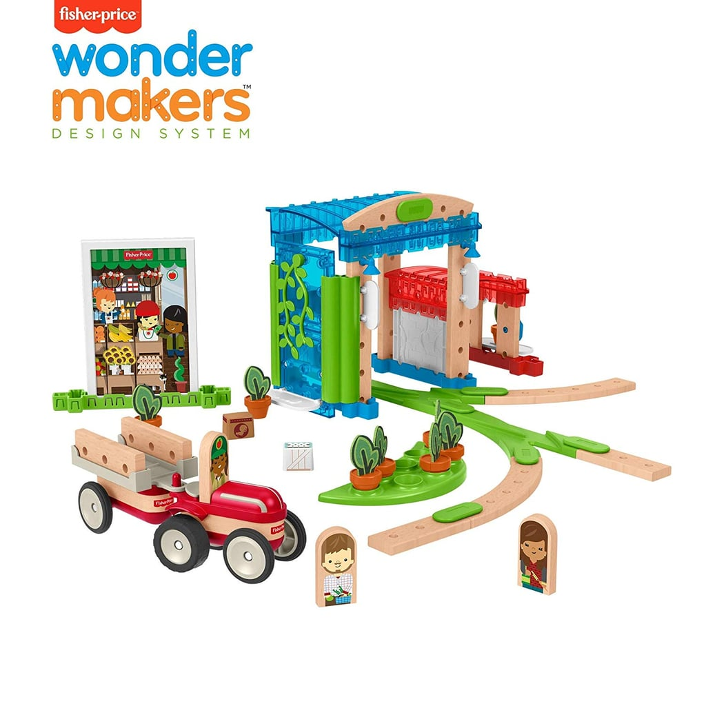 Fisher-Price Wonder Makers Design System Build Around Town Starter Kit