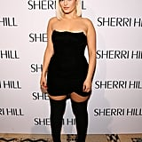 Bebe Rexha Wearing Steve Madden Boots at the Sherri Hill NYFW Show in 2019