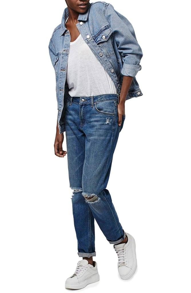 Topshop Oversize Denim Jacket ($85)