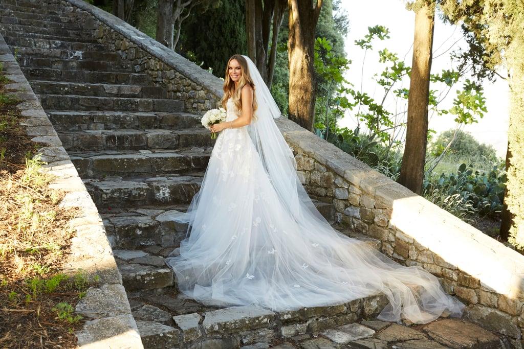Caroline Wozniacki's Oscar de la Renta Wedding Dress