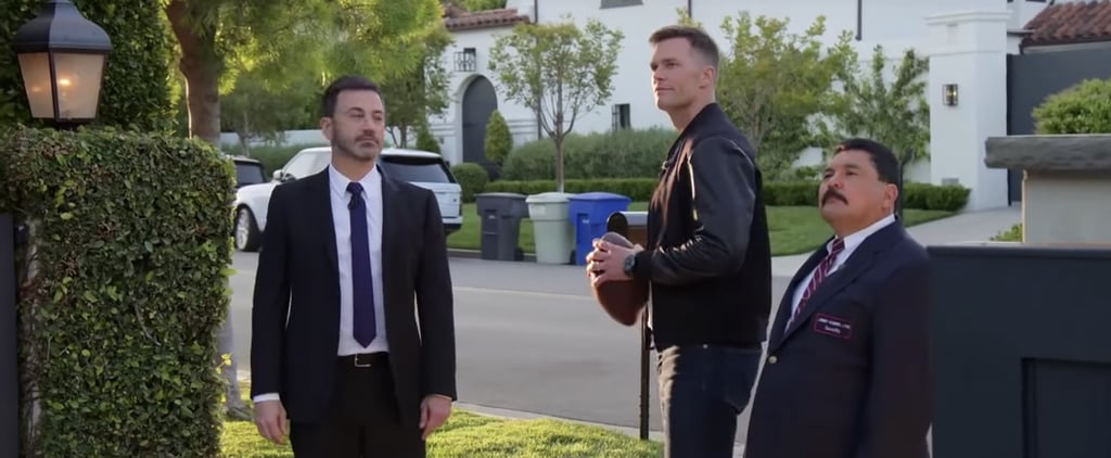 Jimmy Kimmel Tom Brady Vandalize Matt Damon's House Video