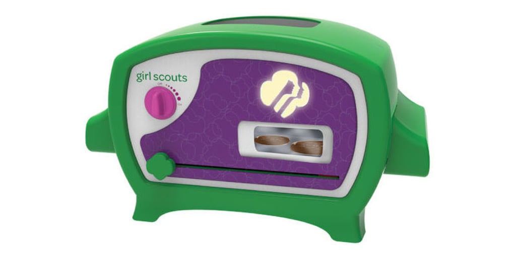 For 7-Year-Olds: Girl Scout Cookie Oven