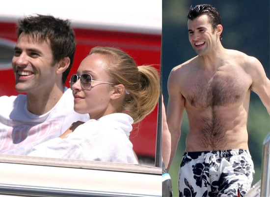 Photos Of Shirtless Steve Jones and Hayden Panettiere On A Yacht In Cannes
