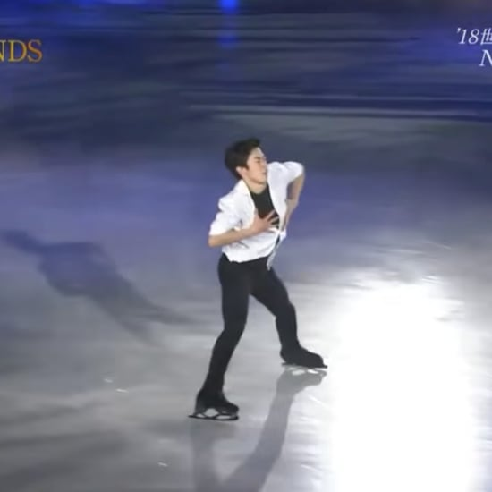 "Nathan Chen Stars on Ice Routine to ""Back From the Edge"""