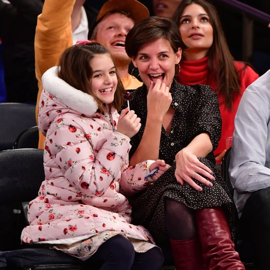 Katie Holmes Posts Birthday Picture of Suri Cruise 2018