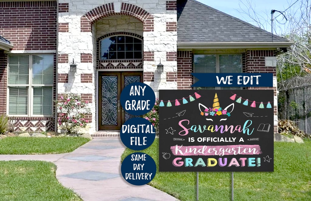Shop Graduation Lawn Signs And Banners For 2020 Popsugar Family
