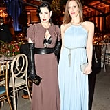 Dita Von Teese and Liz Goldwyn