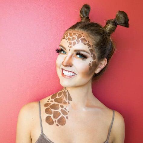 Giraffe Halloween Makeup Ideas