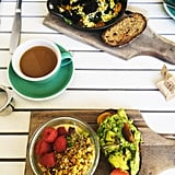 Best Spot For Mouthwatering Healthy Goodness: Bluestone Lane Collective Cafe
