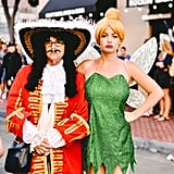 Hook and Tinkerbell