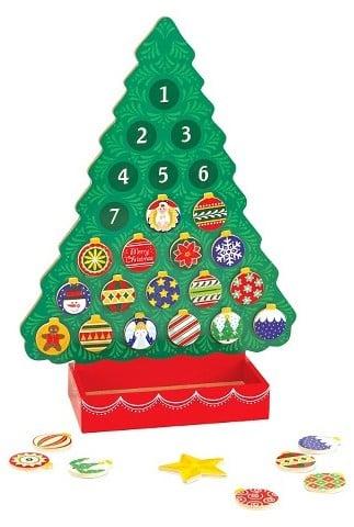 Buy: Melissa & Doug Wooden Advent Calendar