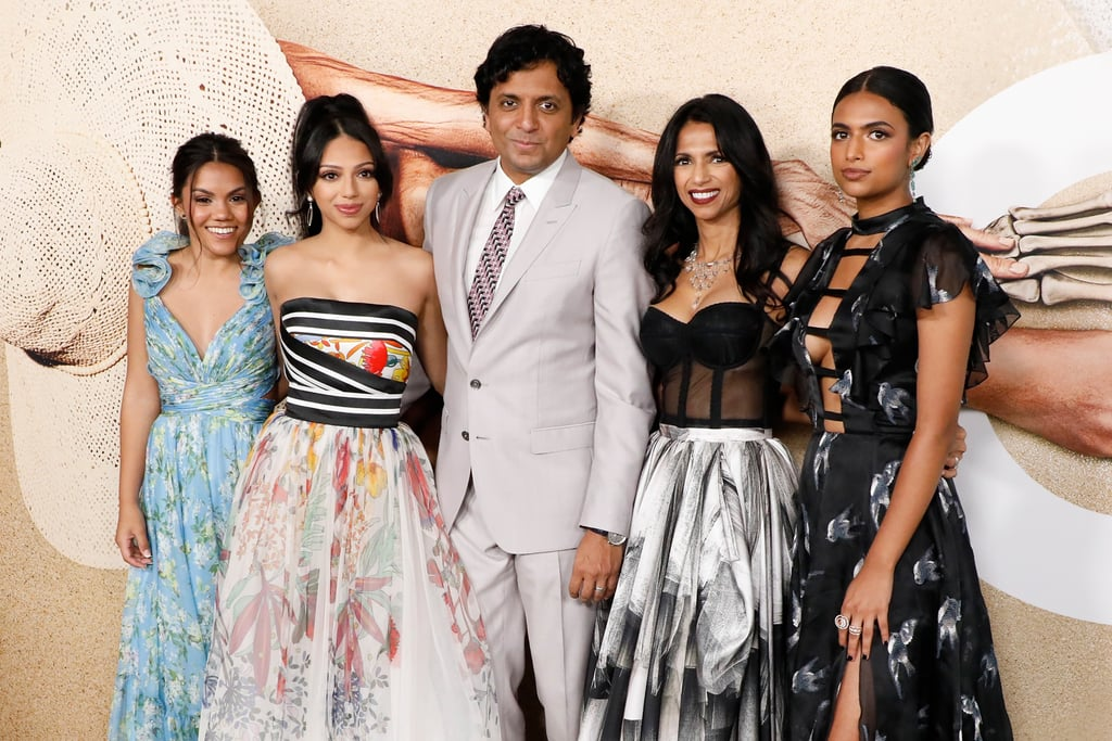 M. Night Shyamalan turned the world premiere of Old into a family affair. On Monday night, the director was joined by his wife, Bhavna Vaswani, and their three daughters, Saleka, Shivani, and Ishana as they hit the red carpet for the upcoming film in NYC. While it was his big night, his daughters really stole the spotlight as they posed for the cameras. We can't get over how grown up they all are! His daughters have attended a handful of movie premieres with him over the years, including Split in 2017 and After Earth in 2013.  Just as Shyamalan has an impressive film-making career, his daughters are paving their own way in the industry. Saleka has been releasing new music this year as an R&B artist, while Ishana has worked on a handful of projects with her dad; she was a second unit director for Old and previously wrote and directed episodes of his Apple TV+ series Servant. See more photos of the Shyamalan daughters ahead.       Related:                                                                                                           There Has to Be a Twist in M. Night Shyamalan's Old, Right? Here Are 4 Theories