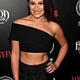 Lea Michele Flashes Her Abs and Smile on Her First Post-Breakup Red Carpet