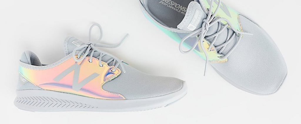 These Iridescent New Balance Sneakers Are All We Want in Life (Plus They're Super Affordable!)