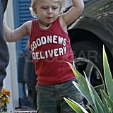 Pictures of Gwen, Gavin, Kingston and Zuma