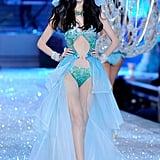 The under-the-sea portion of the Victoria's Secret Fashion Show.