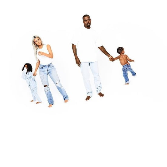 Kim Kardashian and Kanye West's Family Holiday Photos 2017