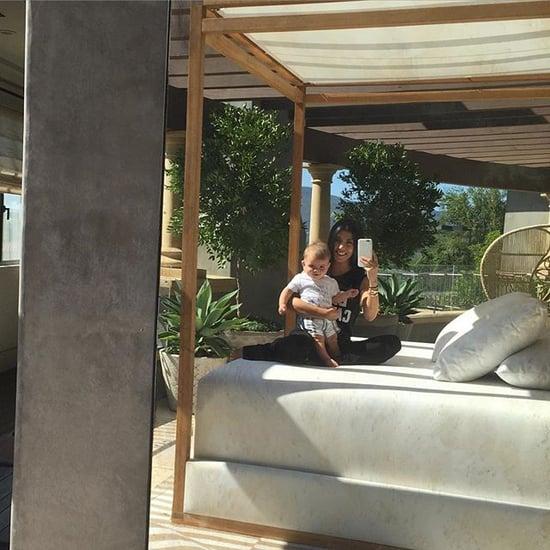 Kourtney Kardashian Posts Instagram Pictures With Baby Reign
