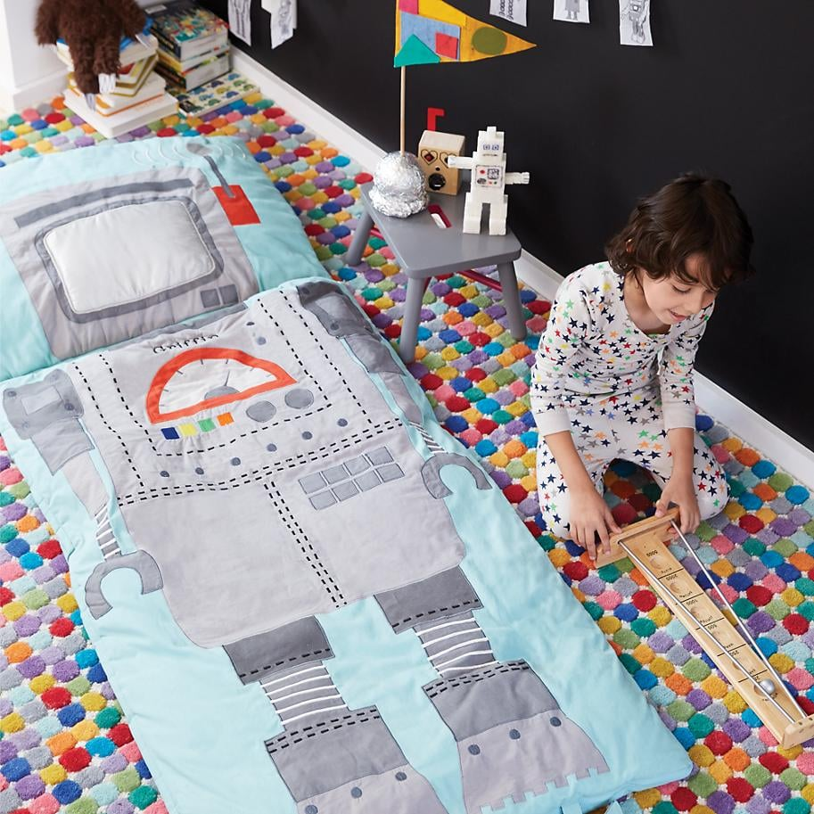 For 5-Year-Olds: Robotic Sleeping Bag