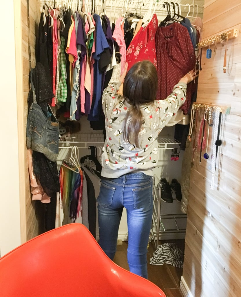 Mom Turns Closet Into Secret Room For Daughter
