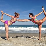 It was a double-Dancer kind of day for Nina Dobrev.