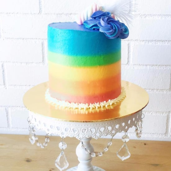 Rainbow Birthday Cakes For Kids