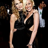 2007: Taylor Caught Up With Her Good Friend Kellie Pickler on the Red Carpet