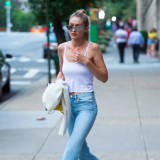 Gigi Hadid Wearing Zayn Jeans