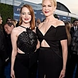 Pictured: Nicole Kidman and Emma Stone