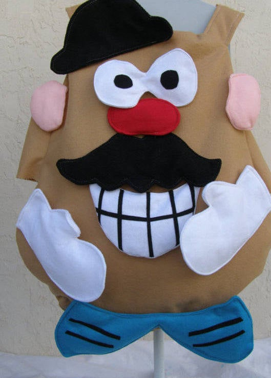 mr potatohead costume with movable pieces 150